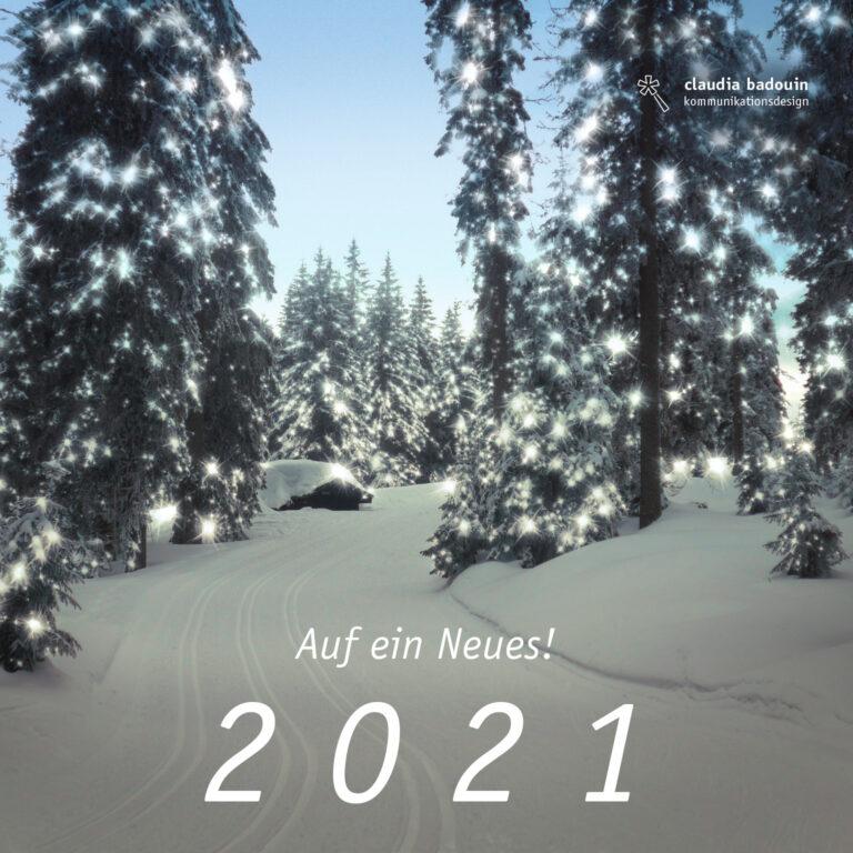 Auf ein Neues! 2021
